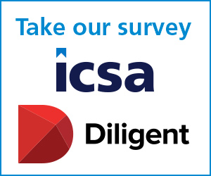 Diligent and ICSA survey 2019
