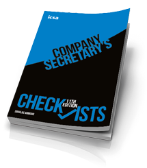 Company Secretary's Checklists, 11th edition