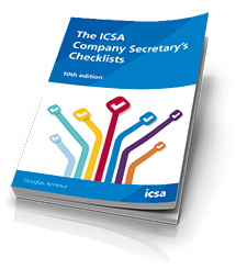 The ICSA Company Secretary's Checklists, 10th edition