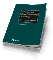Knowles on Local Authority Meetings, 8th edition