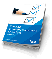 The ICSA Company Secretary's Checklists, 9th edition