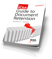 Guide to Document Retention, 3rd edition