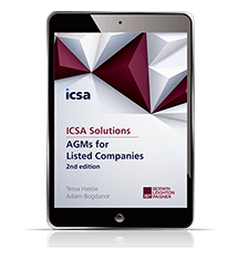 AGMs for Listed Companies, 2nd edition (ICSA Solutions)