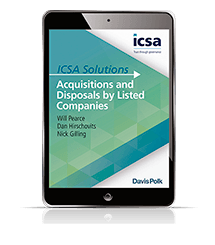 Acquisitions and Disposals by Listed Companies (ICSA Solutions)