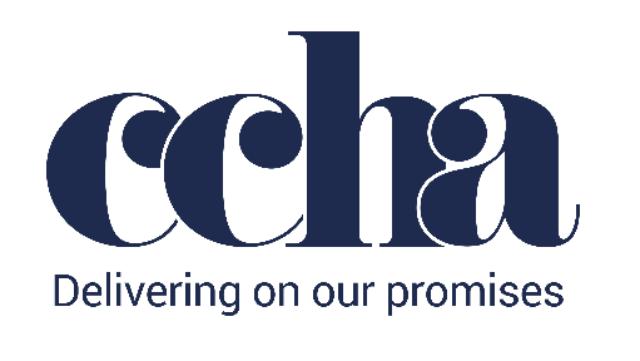 Croydon Churches Housing Association (CCHA) logo